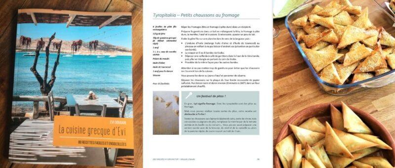 livre de cuisine grecque evi 80 recettes grece faciles