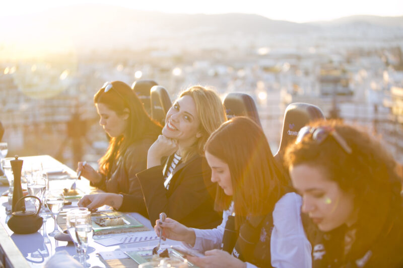 Dinner in the Sky à Athènes
