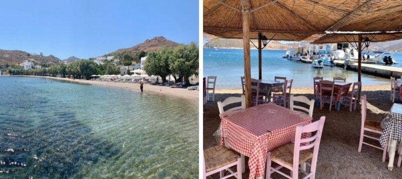 Les plages de Patmos Grèce -