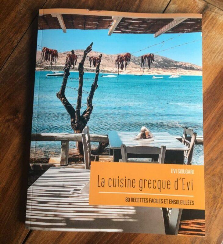 livre cuisine grecque evi