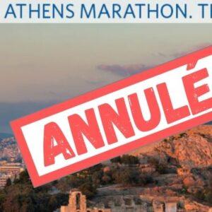 Marathon d' Athènes édition 2020 annulé