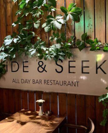 Hide & Seek : un restaurant avec terrasse et jardin à Athènes