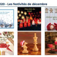 activités de noël et marché de noël Athènes accueil 2020