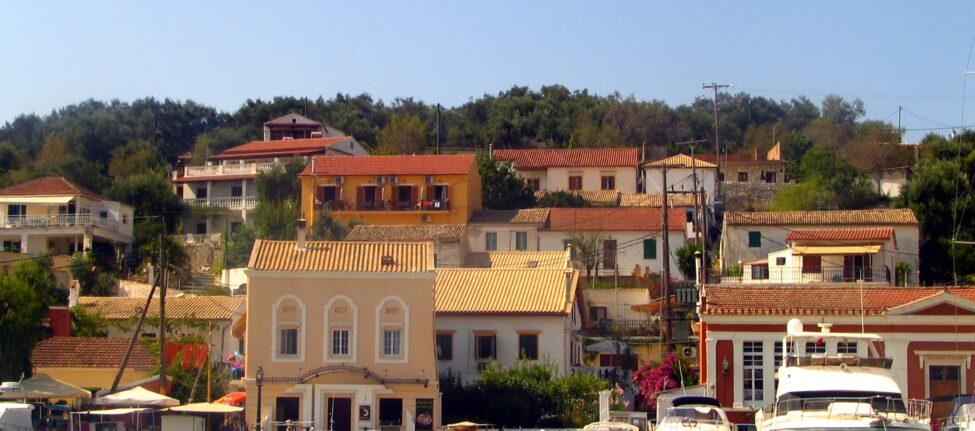 paxos gaios transports et logements à Paxos