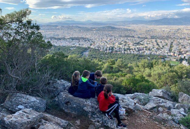 Randonnée à Athènes sur le mont Hymette