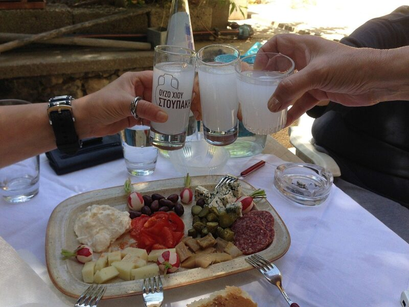 Ouzo que boire en grèce : alcools grecs vins grecs typiques