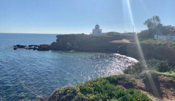 balade en bord de mer tout près d'Athènes