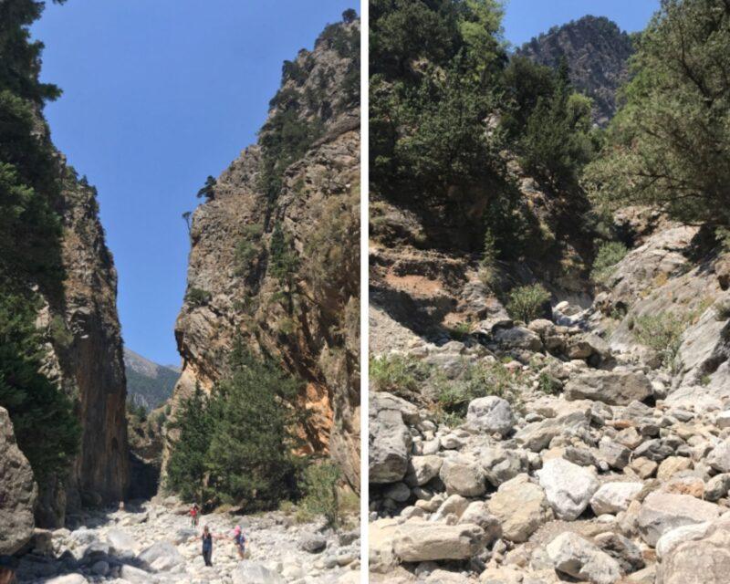 Randonnées dans les gorges de Samaria en Crète : informations et conseils pratiques