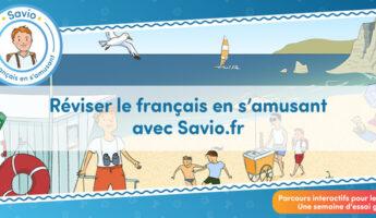 Savio apprendre le français à l'étranger