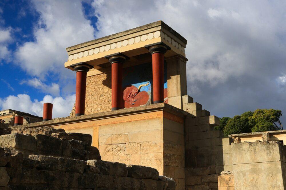 Visiter Knossos Cnossos en Crète Grèce