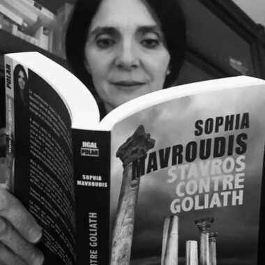 auteure franco-grecque roman noir stavros contre goliath sophia Mavroudis
