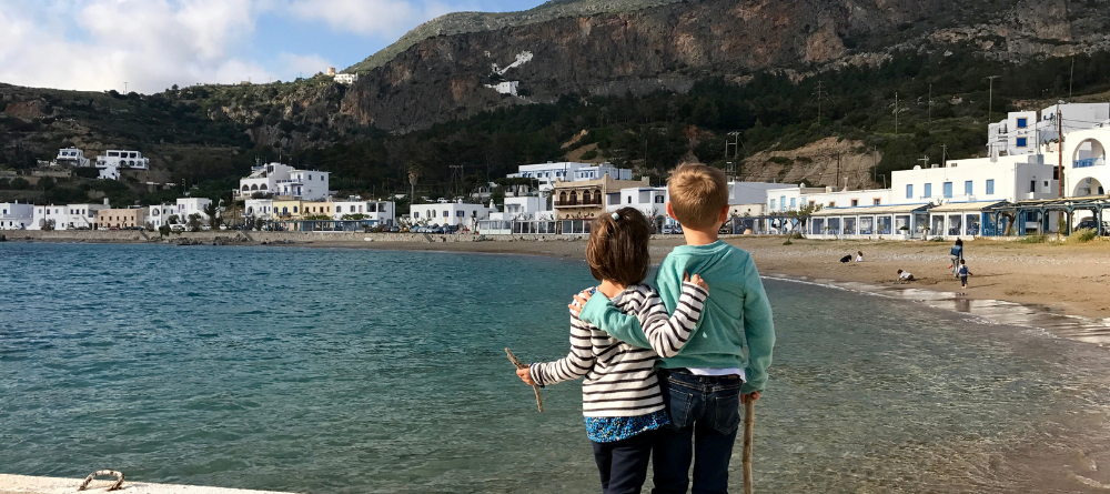 Vacances en Grèce avec des enfants