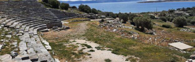Balade à la journée autour d'Athènes : le site de Thorikos et Koutaka Mikrolimanou