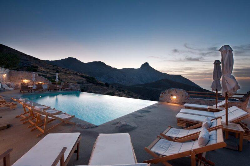 maison à louer en crete avec piscine