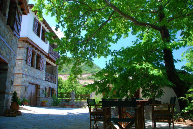 hotel Thassos Thasos Grèce dans les montagnes
