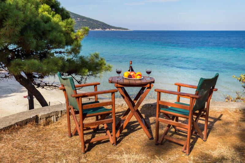 Maison Thassos Thasos Grèce bord de mer