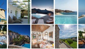 meilleurs hotels en Grèce