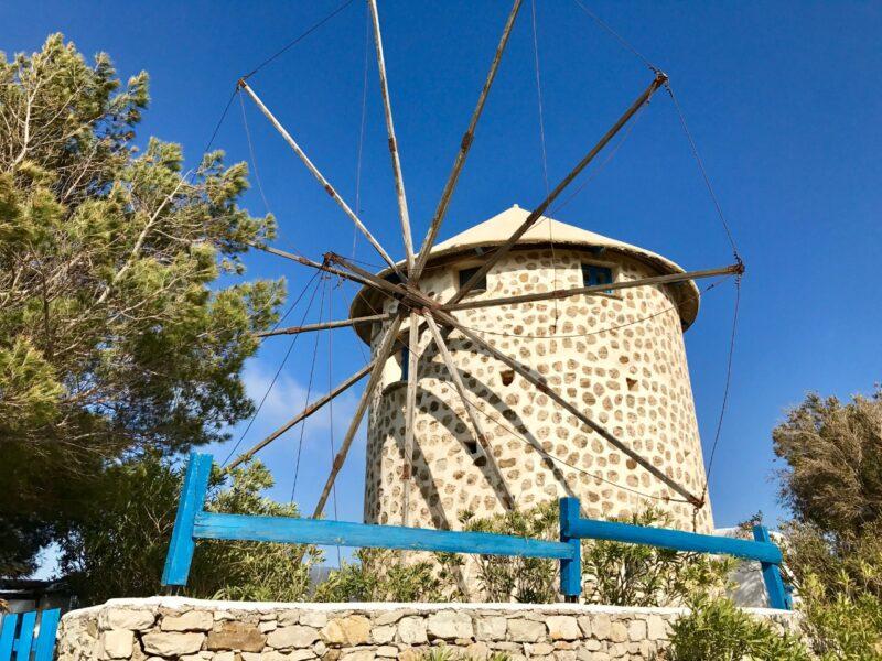 dormir dans un moulin en Grèce à Cythere