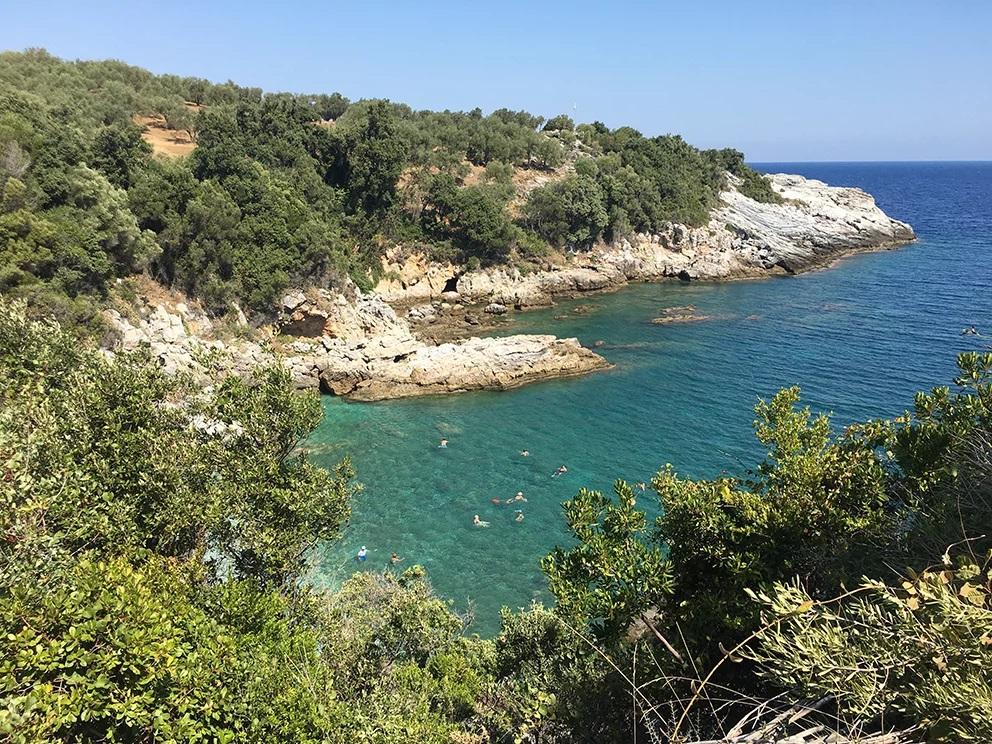 stages de dessin plage du Pélion Grèce