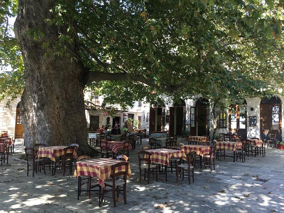 stages de dessin à villages du Pélion Grèce