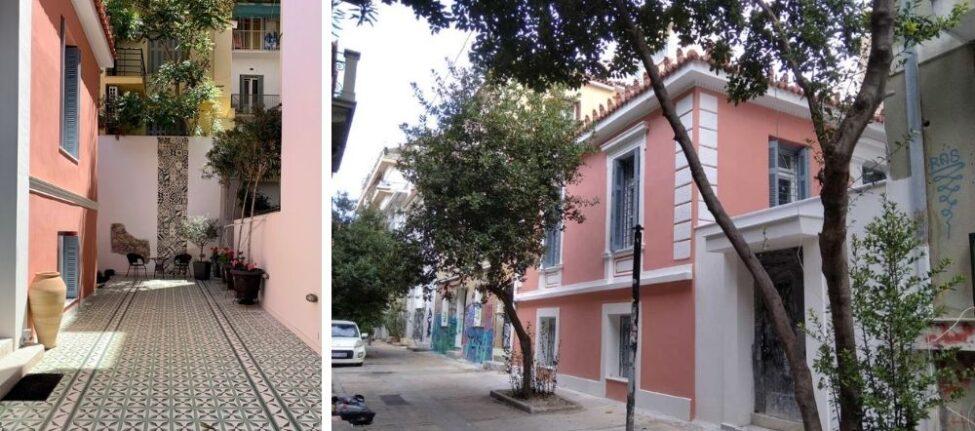 hotel de charme athenes - logement de charme athenes - maisons à louer athenes - hotel athènes