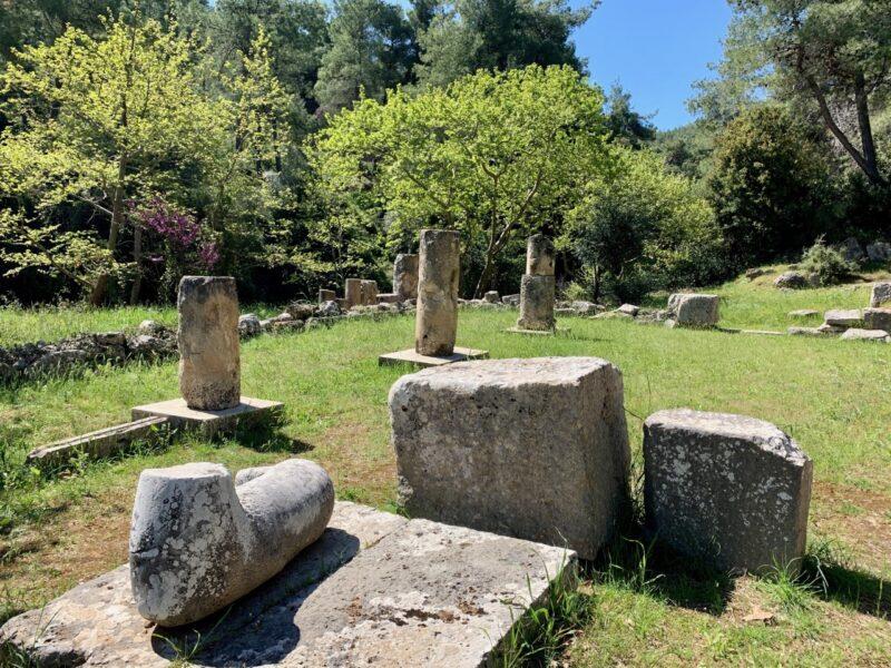 L'amphiaraio amphiaréion d'Oropos : un site archéologique près d'Athènes
