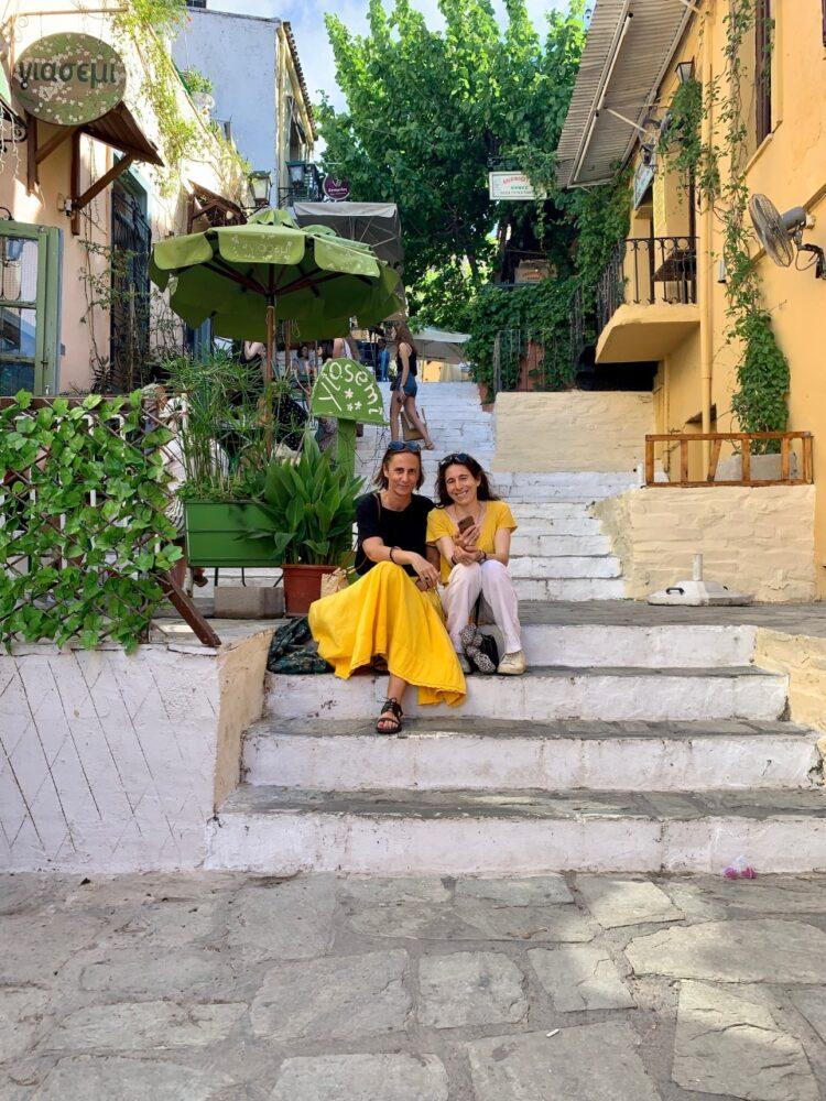Laure et Sophie de Vivre Athènes
