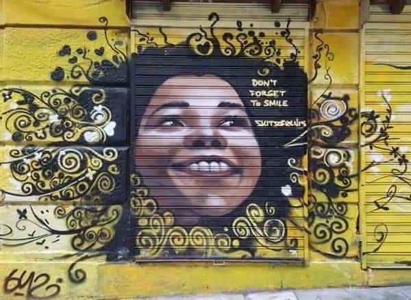 le quartier exarchia à athènes street art