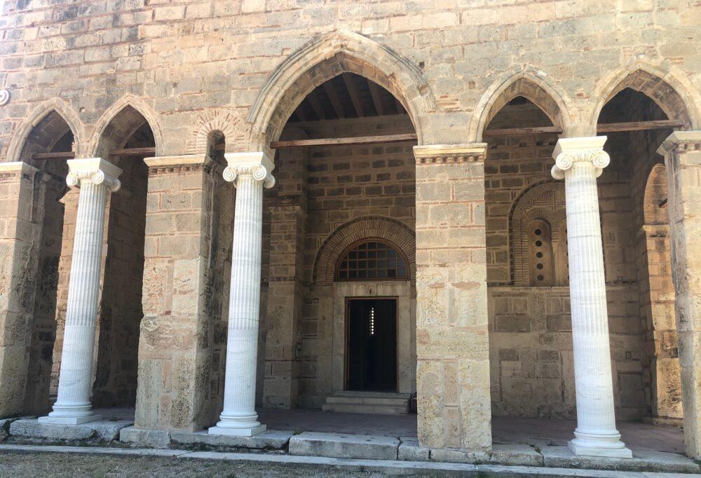 exonarthex monastere de Dafni