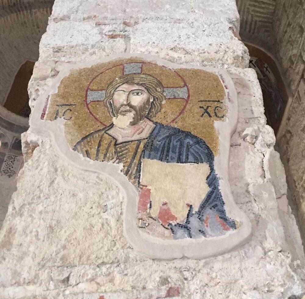 mosaiques monastère de Dafni Grèce