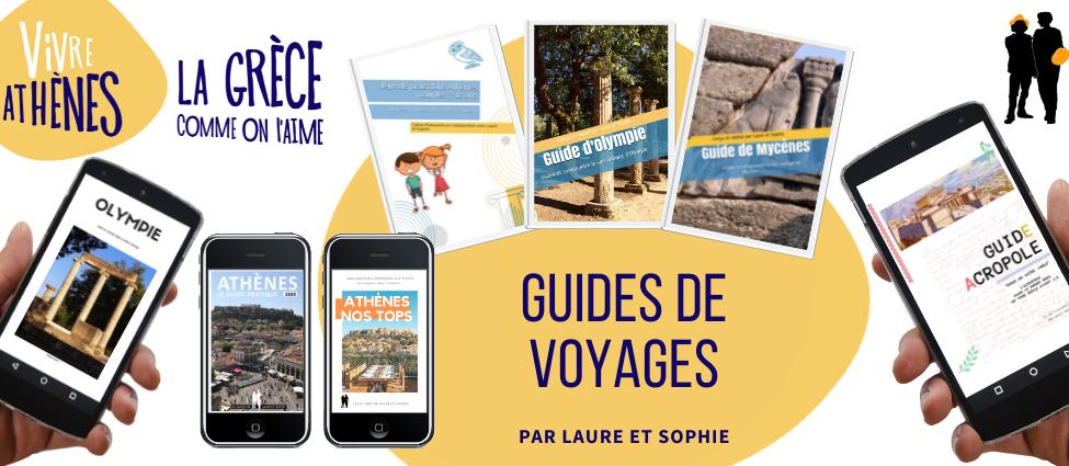 guides de voyage en grèce et athènes par laure et sophie à télécharger ou en version papier