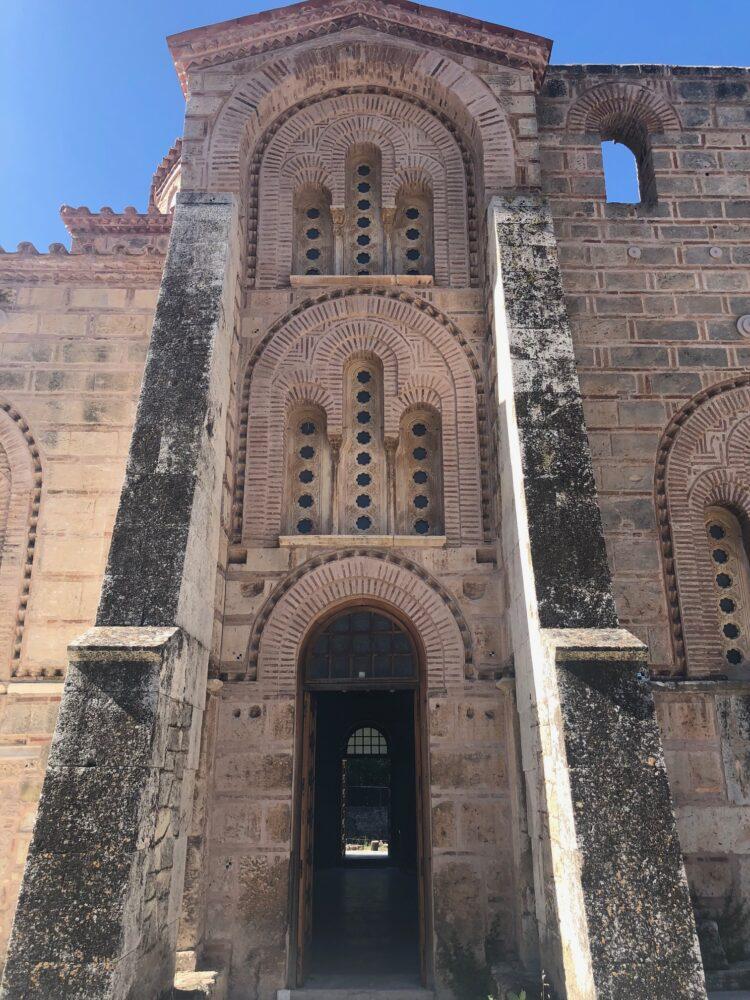 exterieur du monastere de Dafni