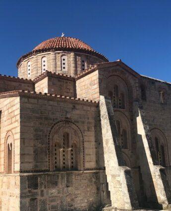 informations pratiques monastère de Dafni Grèce