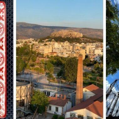 Dinner in the Sky à Athènes - restaurant avec vue acropole athènes