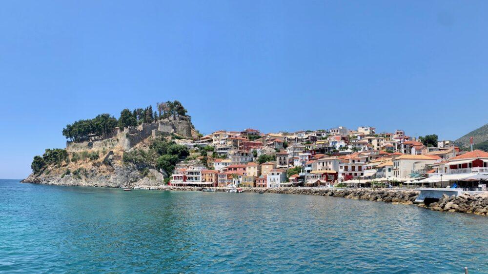 Parga en Grèce