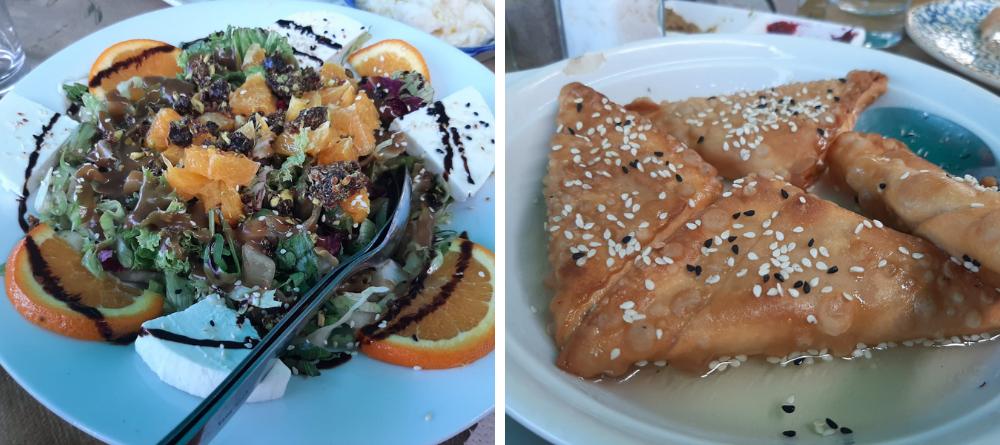 Le restaurant Ammos, un incontournable à Egine